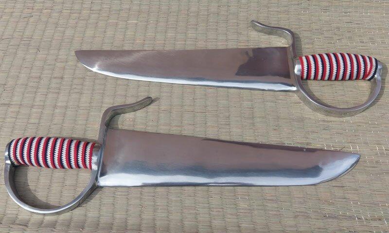 Aluminium Training Butterfly Swords