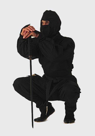 Black Ninja Uniform