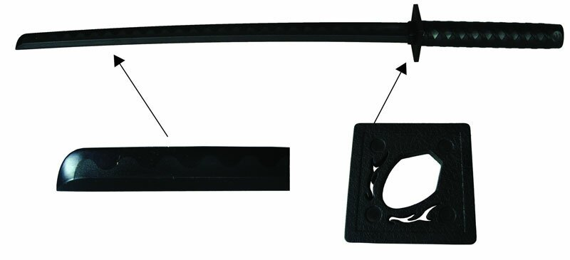 Bokken Ninja PP black