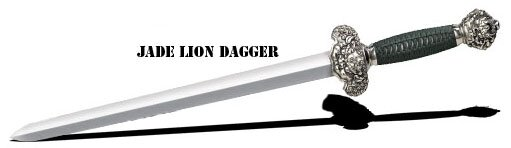 Cold Steel Jade Lion Dagger