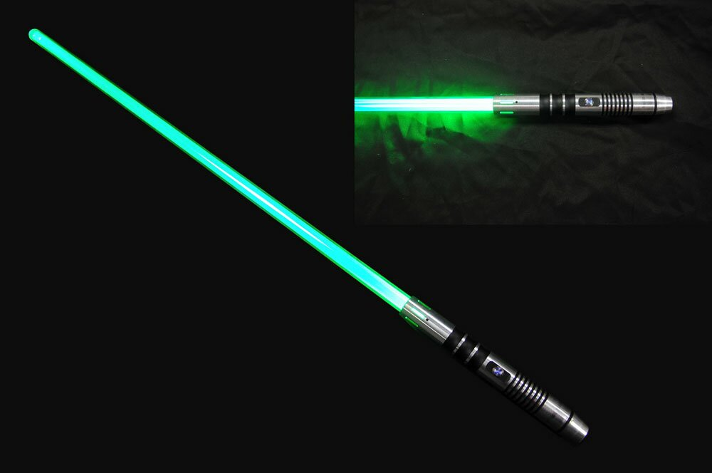Green Lightsaber - No Sound Version