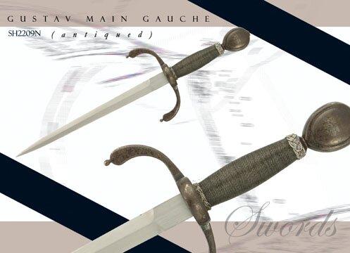 Gustav Main Gauche (antiqued)