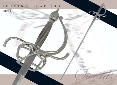 Hanwei Practical Rapier - 37 inch blade