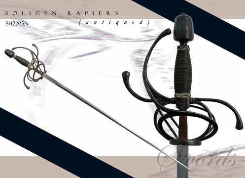 Hanwei Solingen Rapier (antiqued)