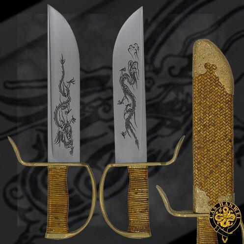 Как сделать парные мечи б