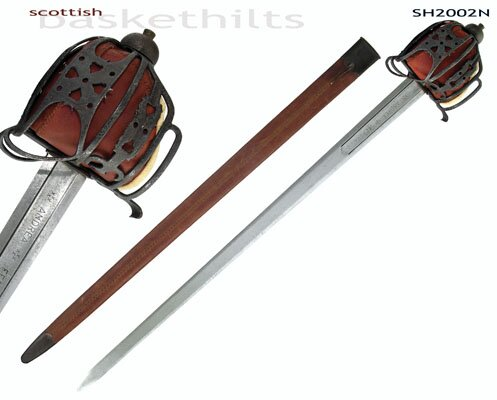 Hanwei Scottish Basket-Hilt Broadsword (Antiqued)