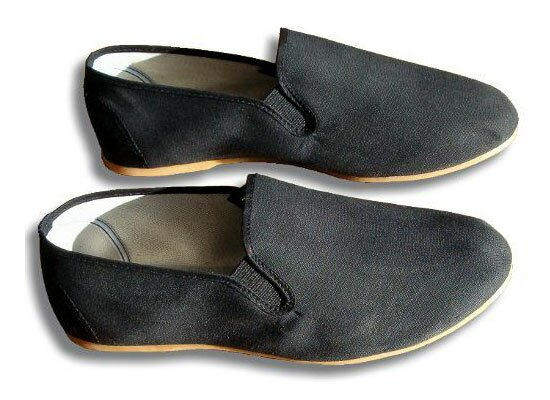Kung Fu Shaolin Slippers - Black