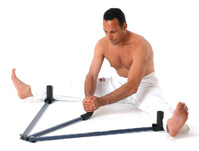 Metal Heavy Duty Leg Stretcher - Blue