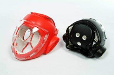 PU Head Guars Black with mask