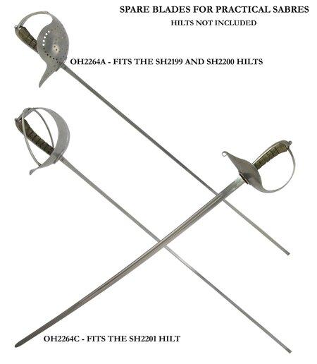 Replacement blade for Radaelli and Pecoraro