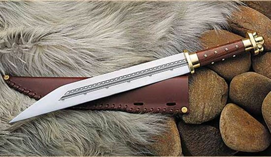 Seax knife(401022) Historical swords replicas, viking, hand and ...
