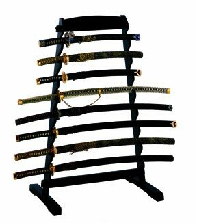 Sword Stand Wood (8 swords)