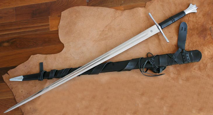 Two Handed Gothic forged sword